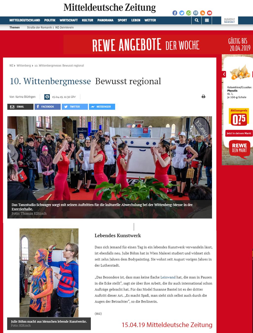 MZ-Wittenberg Messe 2019